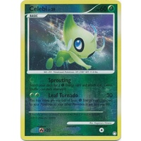 Celebi 7/123 DP Mysterious Treasures Reverse Holo Rare Pokemon Card NEAR MINT TCG