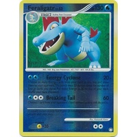 Feraligatr 8/123 DP Mysterious Treasures Reverse Holo Rare Pokemon Card NEAR MINT TCG