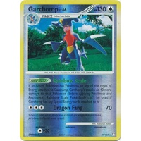Garchomp 9/123 DP Mysterious Treasures Reverse Holo Rare Pokemon Card NEAR MINT TCG