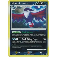 Honchkrow 10/123 DP Mysterious Treasures Reverse Holo Rare Pokemon Card NEAR MINT TCG