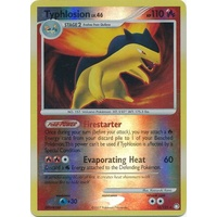 Typhlosion 16/123 DP Mysterious Treasures Reverse Holo Rare Pokemon Card NEAR MINT TCG