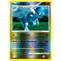 Rampardos 33/123 DP Mysterious Treasures Reverse Holo Rare Pokemon Card NEAR MINT TCG