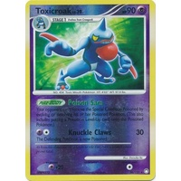 Toxicroak 36/123 DP Mysterious Treasures Reverse Holo Rare Pokemon Card NEAR MINT TCG