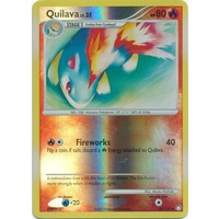 Quilava 60/123 DP Mysterious Treasures Reverse Holo Uncommon Pokemon Card NEAR MINT TCG
