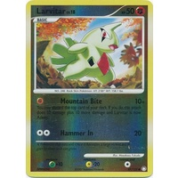 Larvitar 87/123 DP Mysterious Treasures Reverse Holo Common Pokemon Card NEAR MINT TCG