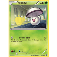 Foongus 17/124 BW Dragons Exalted Common Pokemon Card NEAR MINT TCG