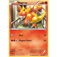 Magmar 20/124 BW Dragons Exalted Common Pokemon Card NEAR MINT TCG