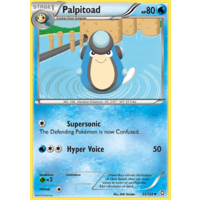 Palpitoad 35/124 BW Dragons Exalted Uncommon Pokemon Card NEAR MINT TCG
