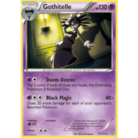 Gothitelle 57/124 BW Dragons Exalted Rare Pokemon Card NEAR MINT TCG