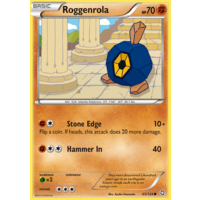 Roggenrola 65/124 BW Dragons Exalted Common Pokemon Card NEAR MINT TCG