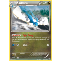 Altaria 84/124 BW Dragons Exalted Holo Rare Pokemon Card NEAR MINT TCG
