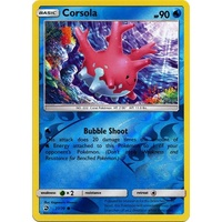 Corsola 27/70 SM Dragon Majesty Reverse Holo Common Pokemon Card NEAR MINT TCG
