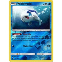 Wishiwashi 31/70 SM Dragon Majesty Reverse Holo Common Pokemon Card NEAR MINT TCG