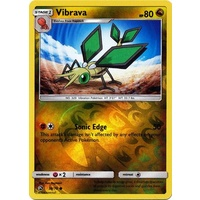 Vibrava 38/70 SM Dragon Majesty Reverse Holo Common Pokemon Card NEAR MINT TCG
