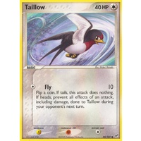 Taillow 80/107 EX Deoxys Common Pokemon Card NEAR MINT TCG