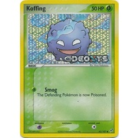 Koffing 62/107 EX Deoxys Reverse Holo Common Pokemon Card NEAR MINT TCG