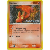 Slugma 75/107 EX Deoxys Reverse Holo Common Pokemon Card NEAR MINT TCG