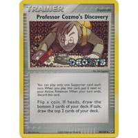 Professor Cozmo's Discovery 90/107 EX Deoxys Reverse Holo Uncommon Trainer Pokemon Card NEAR MINT TCG