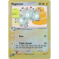 Magneton 35/97 EX Dragon Reverse Holo Uncommon Pokemon Card NEAR MINT TCG