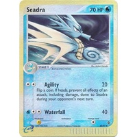 Seadra 40/97 EX Dragon Reverse Holo Uncommon Pokemon Card NEAR MINT TCG