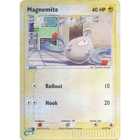 Magnemite 61/97 EX Dragon Reverse Holo Common Pokemon Card NEAR MINT TCG
