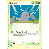 Nincada 66/97 EX Dragon Reverse Holo Common Pokemon Card NEAR MINT TCG