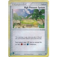 High Pressure System 85/97 EX Dragon Reverse Holo Uncommon Trainer Pokemon Card NEAR MINT TCG