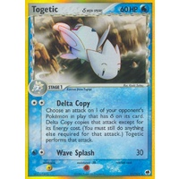 Togetic (Delta Species) 11/101 EX Dragon Frontiers Holo Rare Pokemon Card NEAR MINT TCG