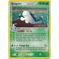 Quagsire (Delta Species) 21/101 EX Dragon Frontiers Reverse Holo Rare Pokemon Card NEAR MINT TCG