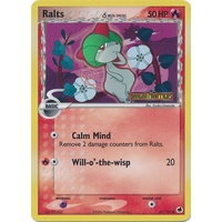 Ralts (Delta Species) 61/101 EX Dragon Frontiers Reverse Holo Common Pokemon Card NEAR MINT TCG