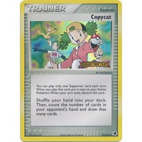 Copycat 73/101 EX Dragon Frontiers Reverse Holo Uncommon Trainer Pokemon Card NEAR MINT TCG