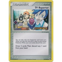 TV Reporter 82/101 EX Dragon Frontiers Reverse Holo Uncommon Trainer Pokemon Card NEAR MINT TCG