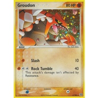 Groudon 5/106 EX Emerald Holo Rare Pokemon Card NEAR MINT TCG