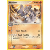 Rhydon 19/106 EX Emerald Rare Pokemon Card NEAR MINT TCG