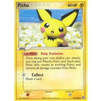Pichu 59/106 EX Emerald Common Pokemon Card NEAR MINT TCG