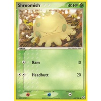 Shroomish 63/106 EX Emerald Common Pokemon Card NEAR MINT TCG