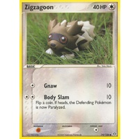 Zigzagoon 74/106 EX Emerald Common Pokemon Card NEAR MINT TCG