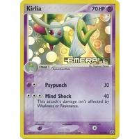 Kirlia 33/106 EX Emerald Reverse Holo Uncommon Pokemon Card NEAR MINT TCG