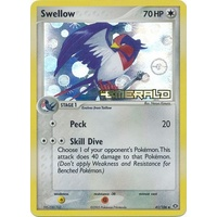 Swellow 41/106 EX Emerald Reverse Holo Uncommon Pokemon Card NEAR MINT TCG