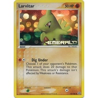 Larvitar 52/106 EX Emerald Reverse Holo Common Pokemon Card NEAR MINT TCG