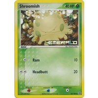 Shroomish 63/106 EX Emerald Reverse Holo Common Pokemon Card NEAR MINT TCG