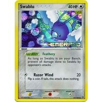 Swablu 67/106 EX Emerald Reverse Holo Common Pokemon Card NEAR MINT TCG