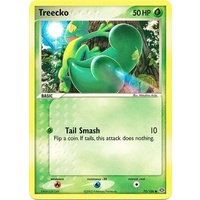 Treecko 70/106 EX Emerald Reverse Holo Common Pokemon Card NEAR MINT TCG