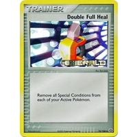 Double Full Heal 76/106 EX Emerald Reverse Holo Uncommon Trainer Pokemon Card NEAR MINT TCG