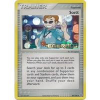 Scott 84/106 EX Emerald Reverse Holo Uncommon Trainer Pokemon Card NEAR MINT TCG