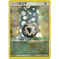 Metal Energy 88/106 EX Emerald Reverse Holo Rare Pokemon Card NEAR MINT TCG