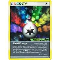 Multi Energy 89/106 EX Emerald Reverse Holo Rare Pokemon Card NEAR MINT TCG