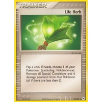 Life Herb 90/101 EX Hidden Legends Uncommon Trainer Pokemon Card NEAR MINT TCG