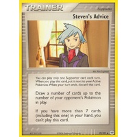 Steven's Advice 92/101 EX Hidden Legends Uncommon Trainer Pokemon Card NEAR MINT TCG