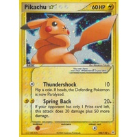 LIGHTLY PLAYED Pikachu Gold Star 104/110 EX Holon Phantoms Holo Ultra Rare Pokemon Card NEAR MINT TCG